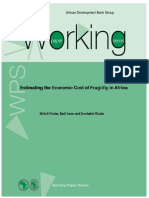 Working Paper 197 - Estimating the Economic Cost of Fragility in Africa