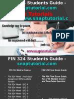FIN 324 Slingshot Academy/snaptutorial