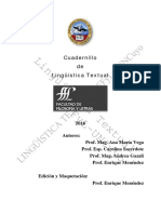 Cuadernillo de Lingüística - InGLÉS 2016