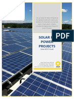 Solar Project Under BOOT Model