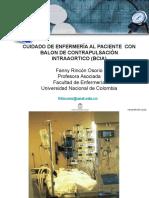 Cuidado de Enfermeria Al Paciente Con Balon de Contrapulsacion
