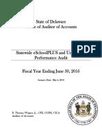 FY16 Unit Count Performance Audit Final Report (Signed)