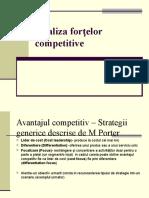 Analiza Forţelor Competitive