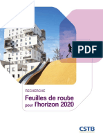 Feuilles de Route Pour Horizon 2020[1]