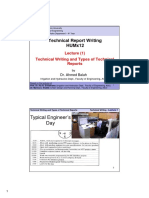 Technical Writing PW Lec. 1 Handouts