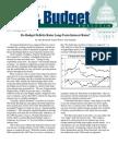 Do Budget Deficits Raise Long-Term Interest Rates?, Cato Tax & Budget Bulletin