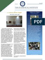 Tantur Newsletter Edition 43 January-April 2016