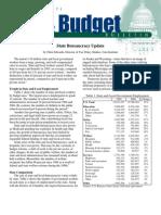 State Bureaucracy Update, Cato Tax & Budget Bulletin