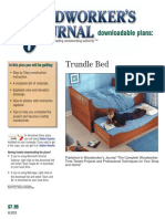 Wj028 Trundle Bed
