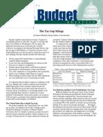 The Tax Gap Mirage, Cato Tax & Budget Bulletin