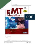 EMT Prehospital Care 3rd Edition