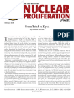 From Triad to Dyad, Cato Nuclear Proliferation Update