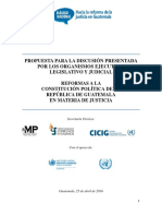 Reforma Constitucional Documento Base