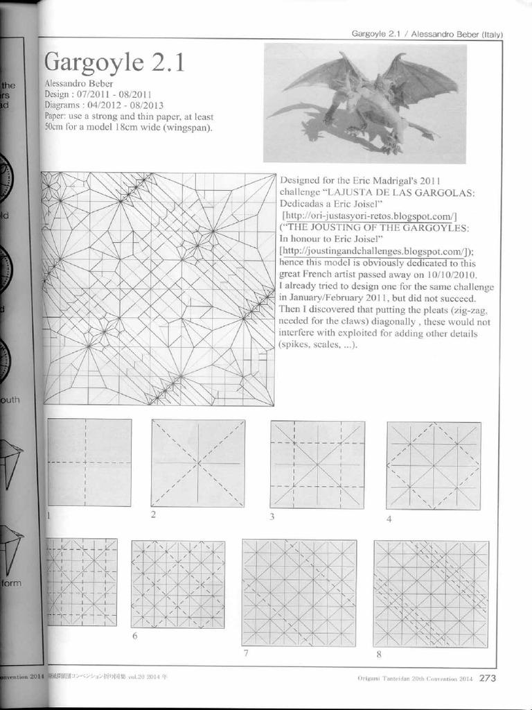 Great, Grandiose and Glorious Origami Gargoyles | 1024x768