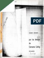 Felisberto Hernandez Por Los Tiempos de Clemente Colling