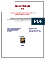 Foreign Direct Investment in Indian Economy-Kshitiz_100_8527255543