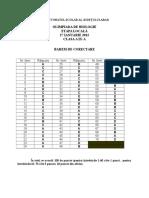 2012 Biologie Etapa Locala Barem Clasa a IX-A 0