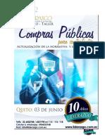 Brief Seminario Compras Publicas Mayo 2016