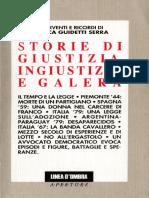 Guidetti Serra_Storie Di Giustizia, Ingiustizia e Galera Bianca
