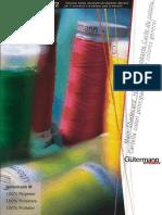 Farbenkarte Nähfaden Polyester