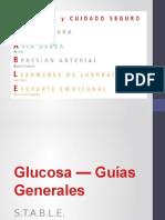 2 Glucosa — Guías Generales