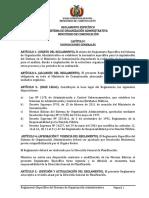 Reglamento Sistema de Organización Administrativa Mc