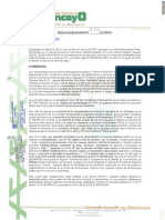 Resolucion de Alcaldia Huancayo