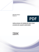 Instrucciones de instalacion SPSS23 en linux (no oficial)