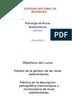 Petrologia de Rocas sedimentarias clase 1