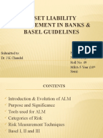ASSET Liability Mgmt in Banks
