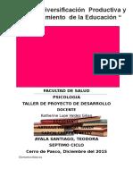 Proyecto de Desarrollo.