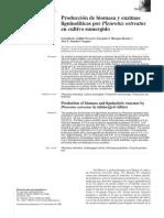 pleurotus enzimas