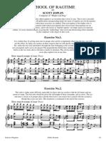 School of Ragtime - Scott Joplin - Sheet music