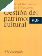 Gestión Del Patrimonio-Josep Ballart y Jordi Juan
