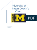 Michigan Clinic 2008 Notes