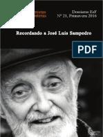 Dossieres EsF 21 Recordando a José Luis Sampedro