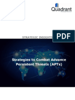 Strategies to Combat Advance Persistent Threats (APTs)