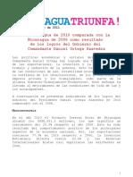 Ncaragua Triunfa NO. 35-6 Mayo