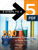 (5 Steps to a 5) Mina Lebitz,Thomas a. Editor - Evangelist-500 AP Chemistry Questions to Know by Test Day-McGraw-Hill Professional_McGraw-Hill Education_McGraw-Hill (2012)