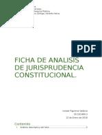 Ficha de Analisis de Jurisprudencia Constitucional - Curtidos Bas