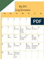 le review calendar2016