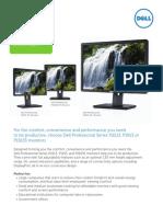 Dell Professional P1913S P1913 P2213 Monitors Channel Brochure