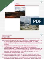 Generación eléctrica geotérmica