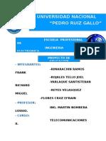 Proyecto Aplicativo Telecomunicaciones II