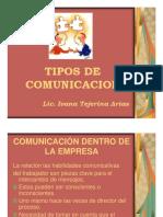 5.1 Tipos de Comunicacion
