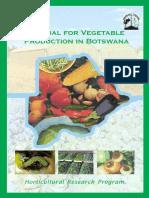 Manual Vegetable Production in Botswana