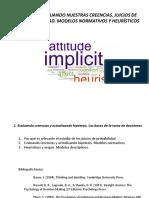 Tema 2. Evaluando Nuestras Creencias. Juicios de Probabilidad. Modelos Normativos y Heuristicos PDF