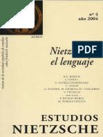 Estudios Nietzsche 4