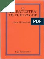 O Zaratustra de Nietzsche