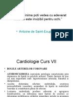Cardiologie Curs VII